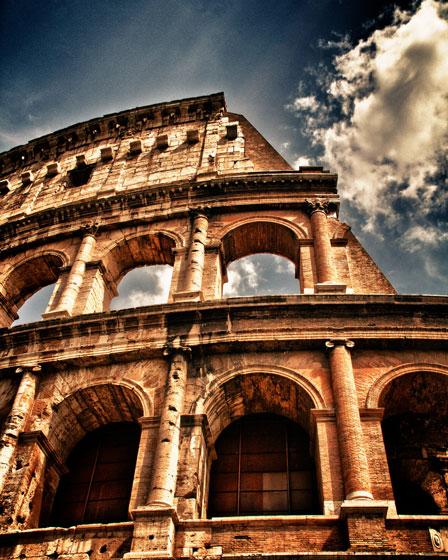 В Рим през лятото