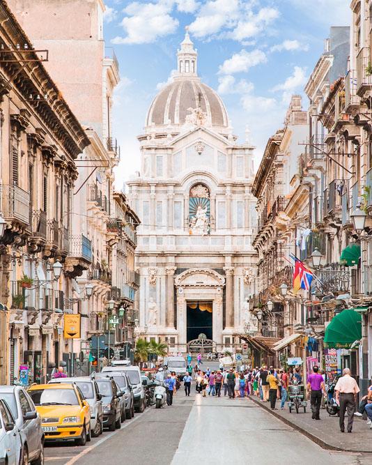 Почивка в Сицилия – близо до Катания