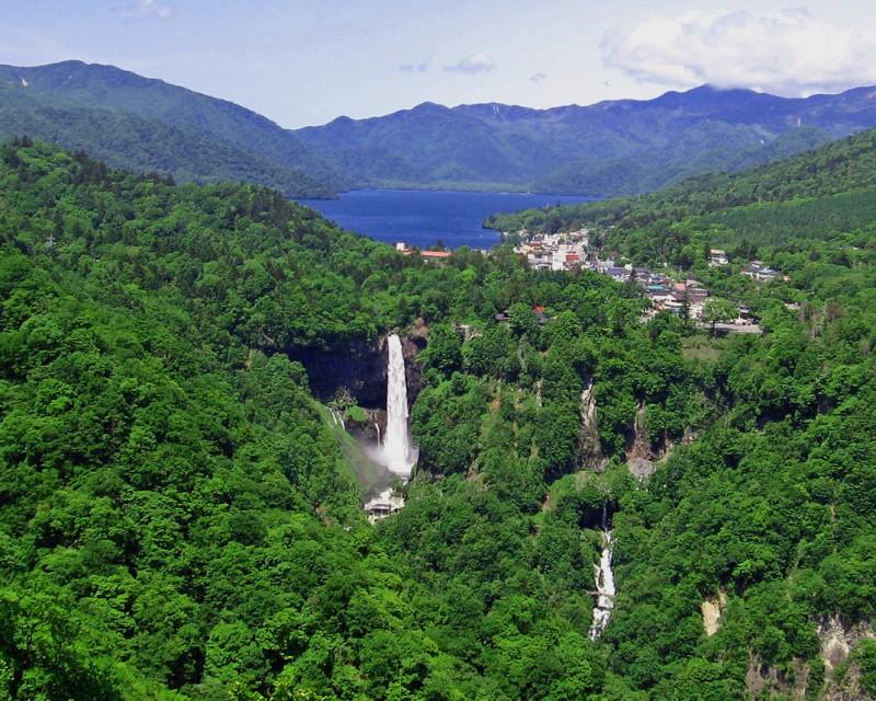 kegon waterfalls - ready