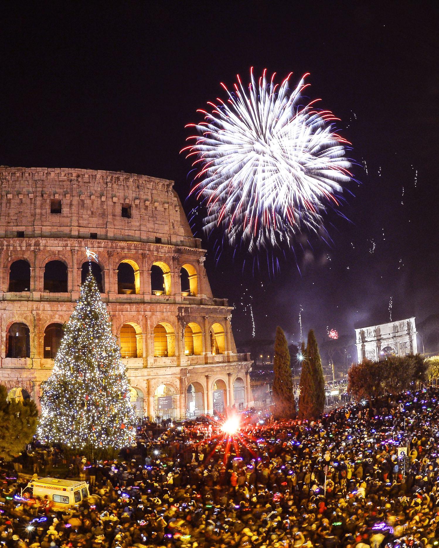 Посрещане на Нова година 2020 в Рим- група с водач