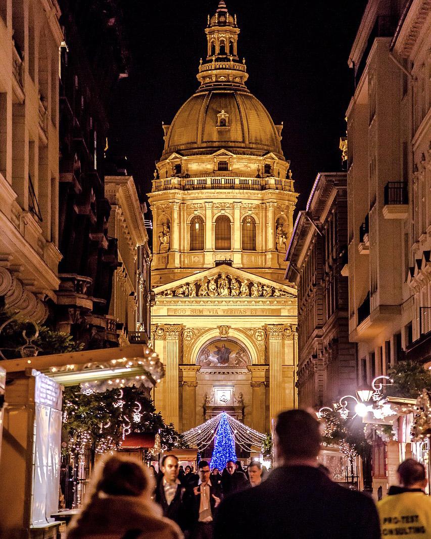 Предколедно пътуване до Будапеща