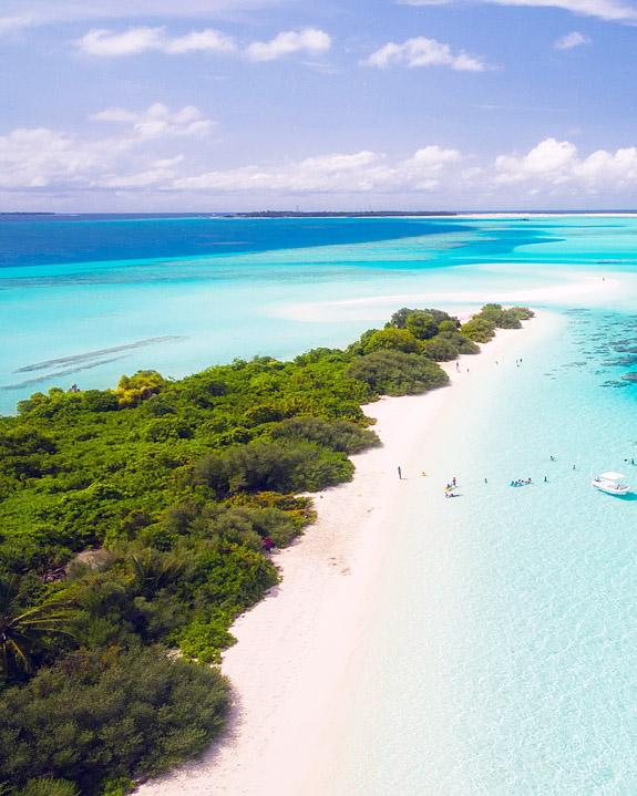 Романтика и почивка: Свети Валентин на Малдивите