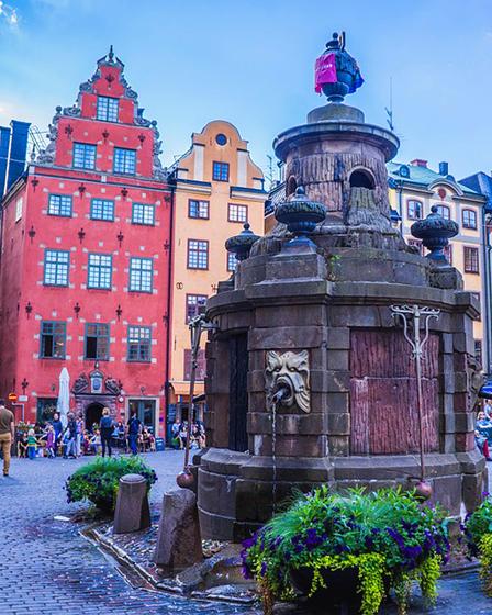 В Стокхолм през април 2018